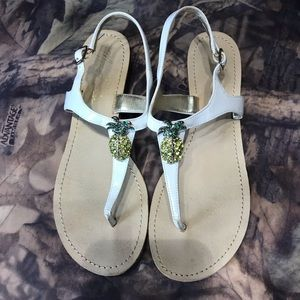 Pineapple sandal by Marc Fisher